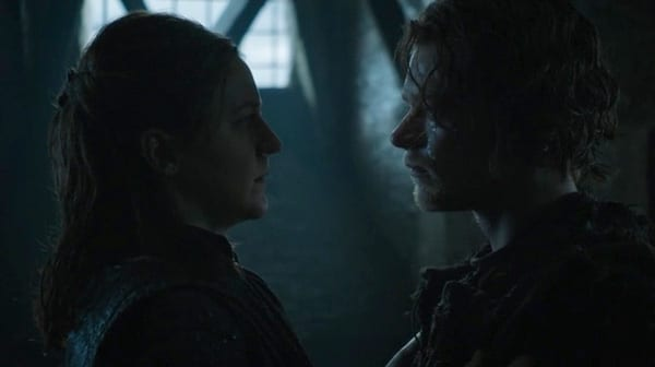 Just as much impact as his hug with Sansa, sure...