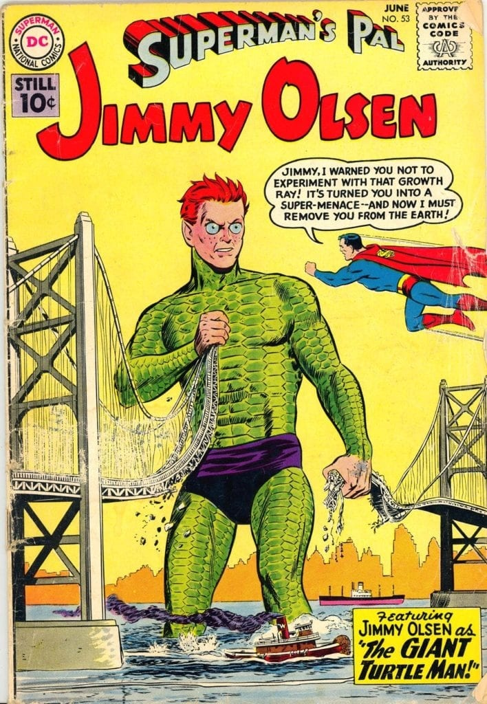 The Silver Age was weird.