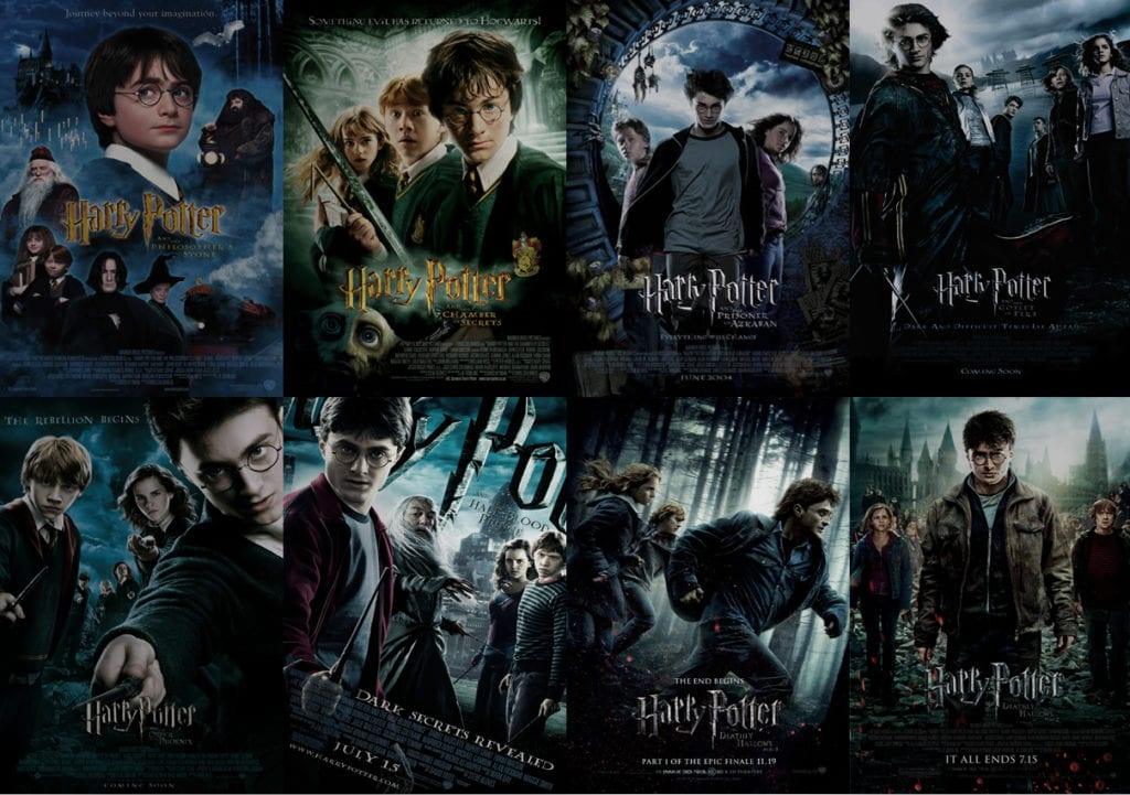 Harry Potter Book Rankings : A semi definitive film ranking harry potter the