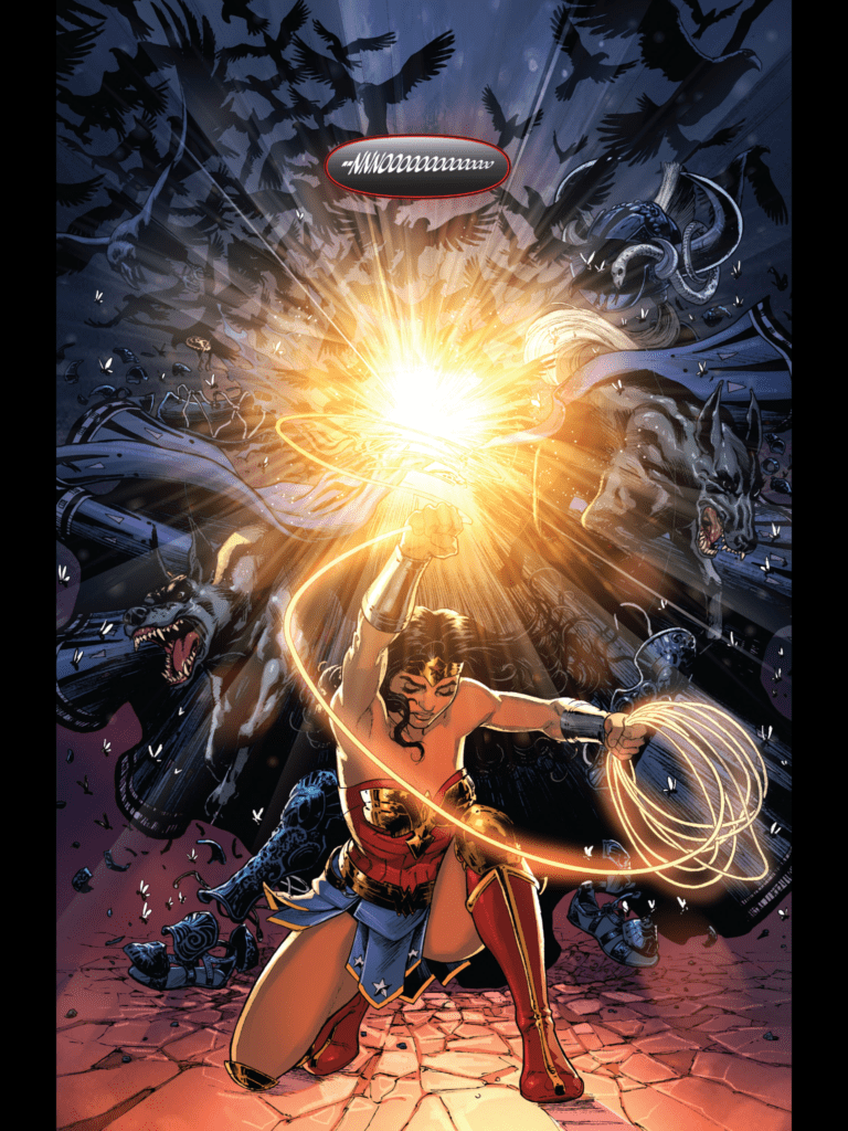 Wonder Woman S Quot Year One Quot Captures The Mythic And The