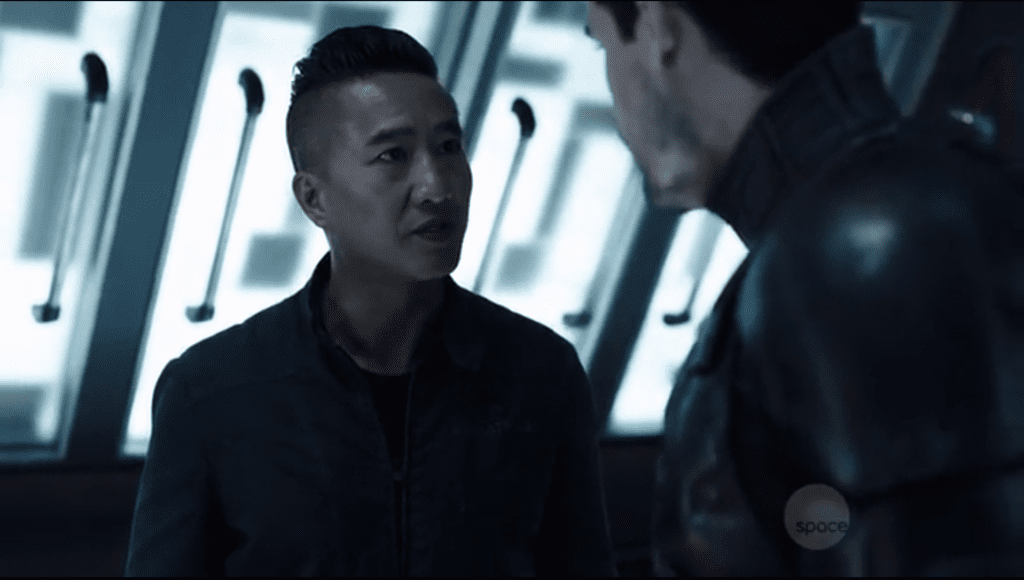 Jim and Dr. Meng (The Expanse)