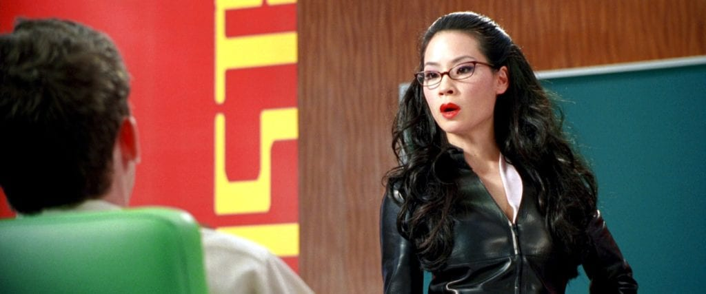 Lucy Liu as Alex in Charlie's Angels (2000)