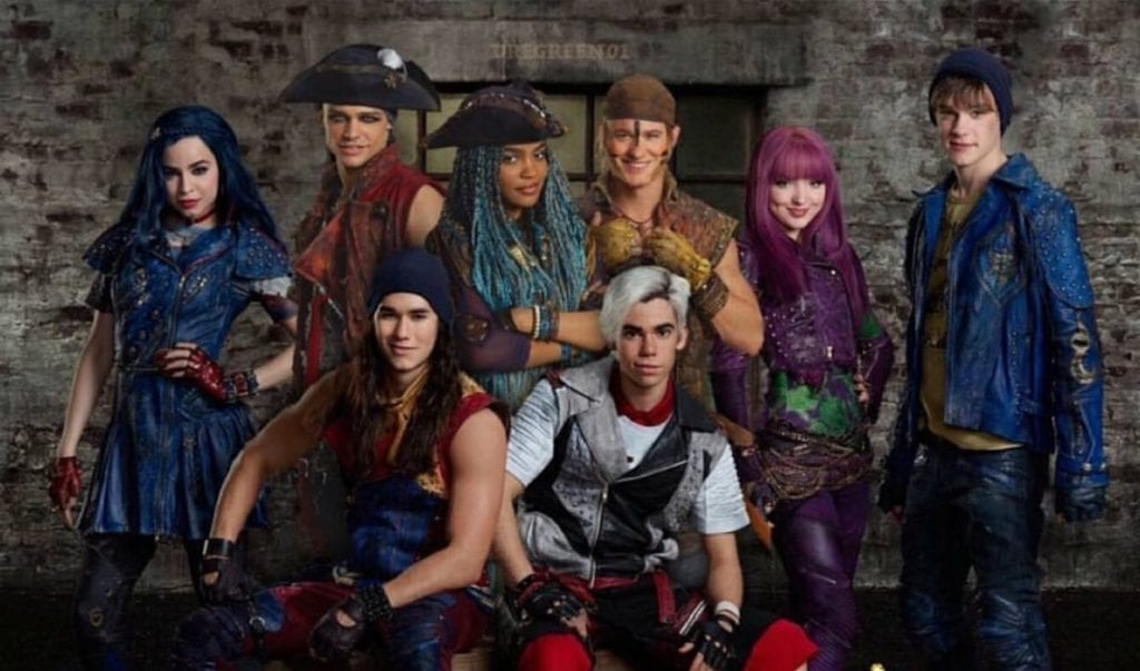 disney's descendants characters - 1024×603