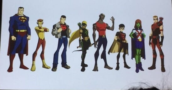 Young Justice Is Growing Up At SDCC - The Fandomentals