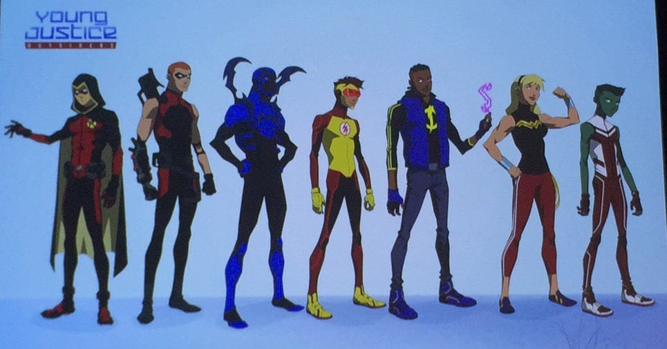 Young Justice Is Growing Up At SDCC – The Fandomentals