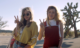 Elizabeth Olsen and Aubrey Plaza as Taylor Sloane and Ingrid Thorburn in Ingrid Goes West.