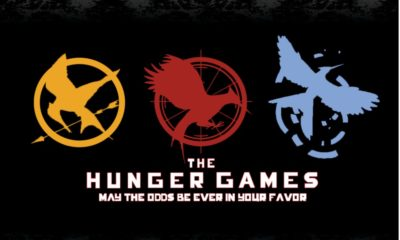 The Hunger Games trilogy banner