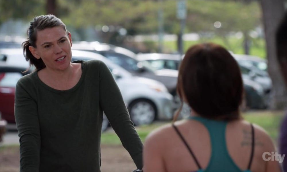 Clea DuVall as Camilla in New Girl