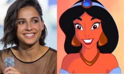 Image ofNaomi Scott and animated Jasmine