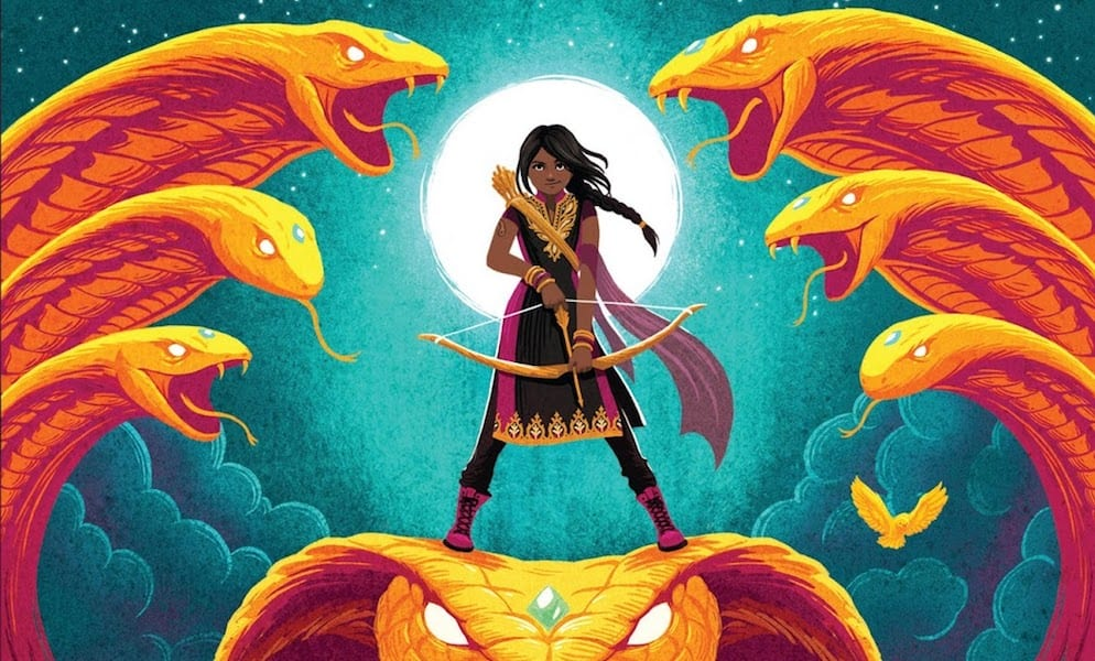 Book Review: Kiranmala and the Kingdom Beyond, Book 1, The