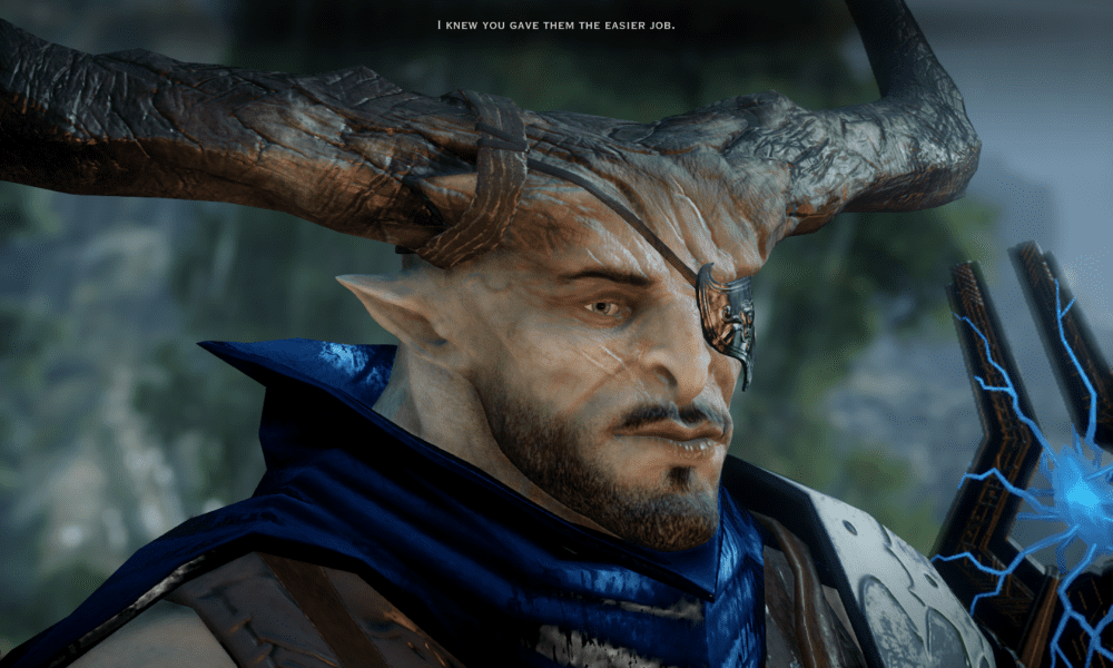 Waiting for Katoh: Romancing the Iron Bull in Dragon Age