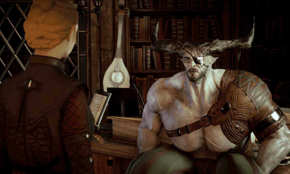 Waiting for Katoh: Romancing the Iron Bull in Dragon Age - The