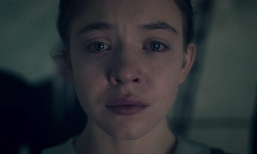 "Sydney Sweeney as Eden Spencer Blaine in The Handmaid's Tale 2x12 ""Postpartum"""