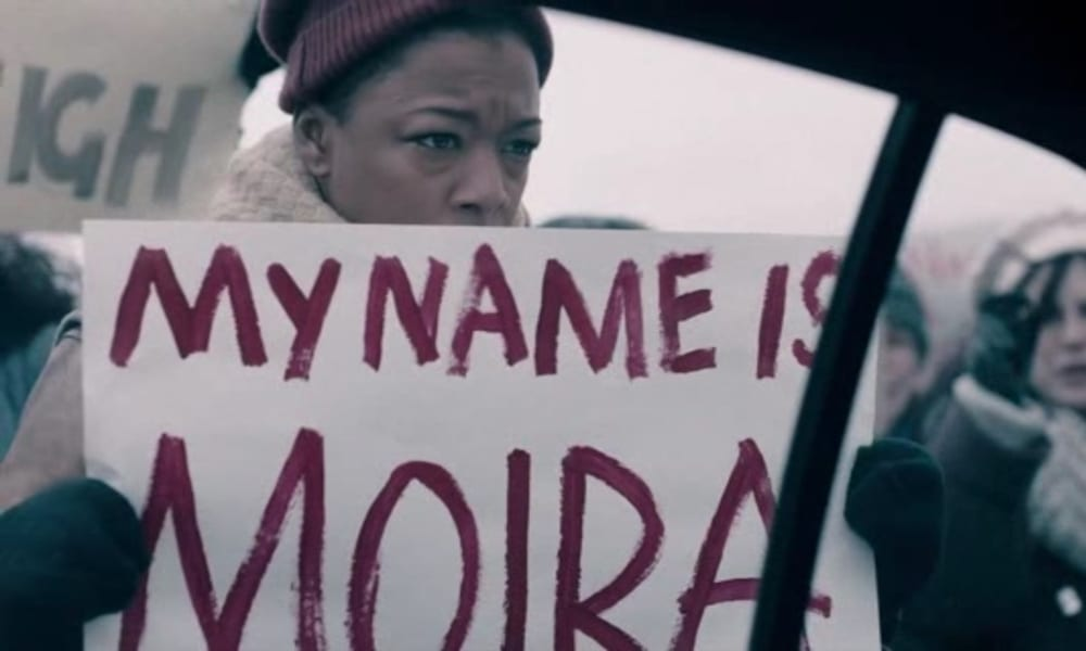 "My name is Moira; Samira Wiley as Moira in The Handmaid's Tale 2x09 ""Smart Power"""