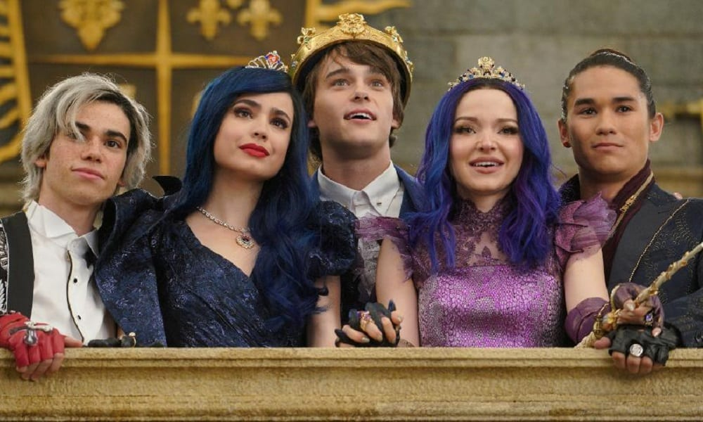descendants 3 main cast