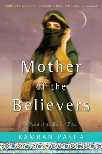 book cover of Mother of Believers with a picture of Aisha wearing a niqab
