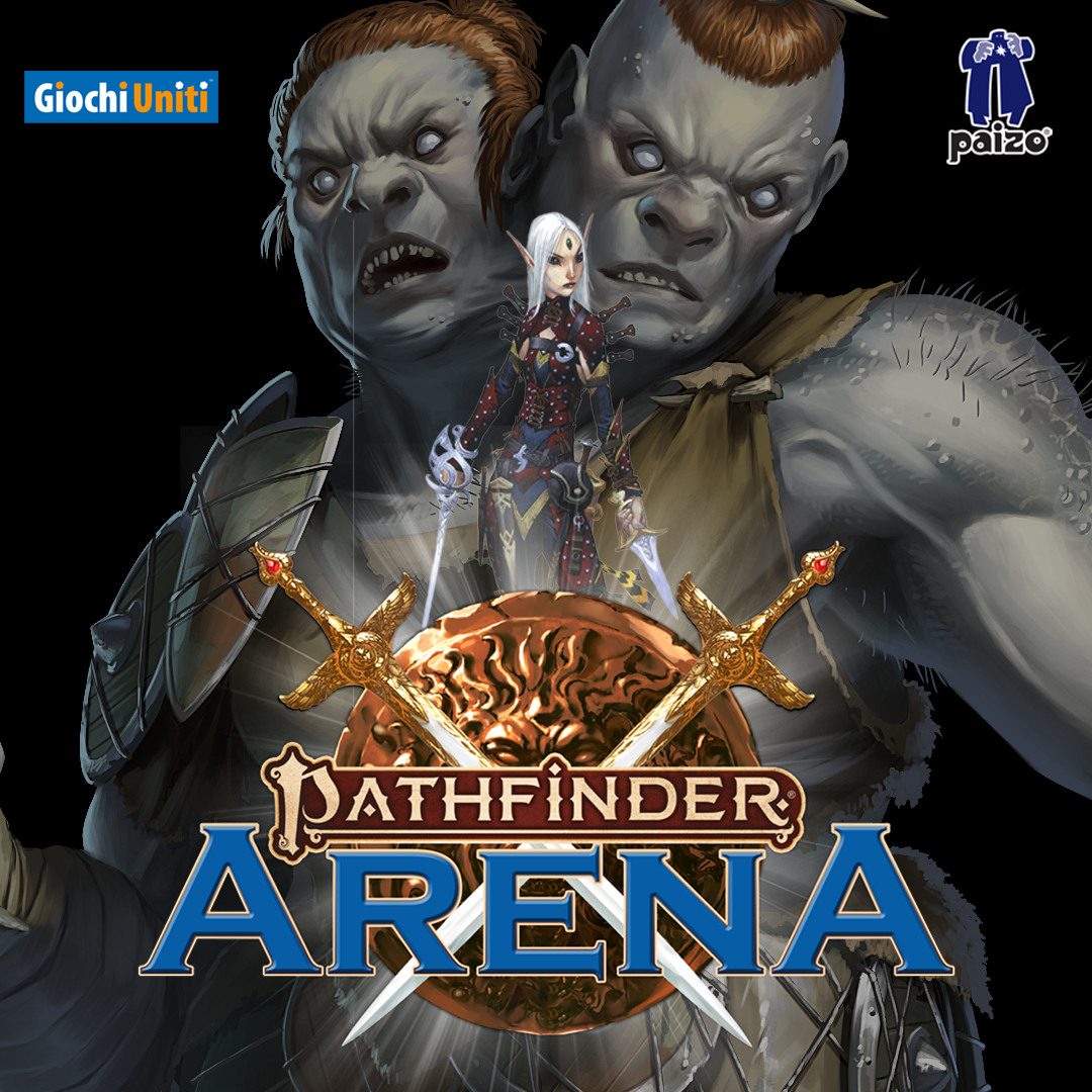Pathfinder Arena with 2 Headed Monster and Iconic Hero