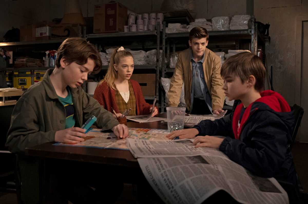 Sam and Dean solve a monster mystery as children in Supernatural.