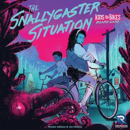 The Snallygaster Situation board game