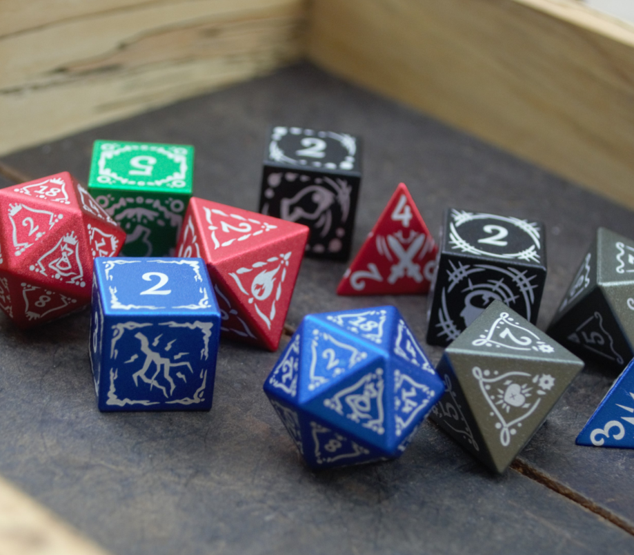 Level Up Dice curated dice set