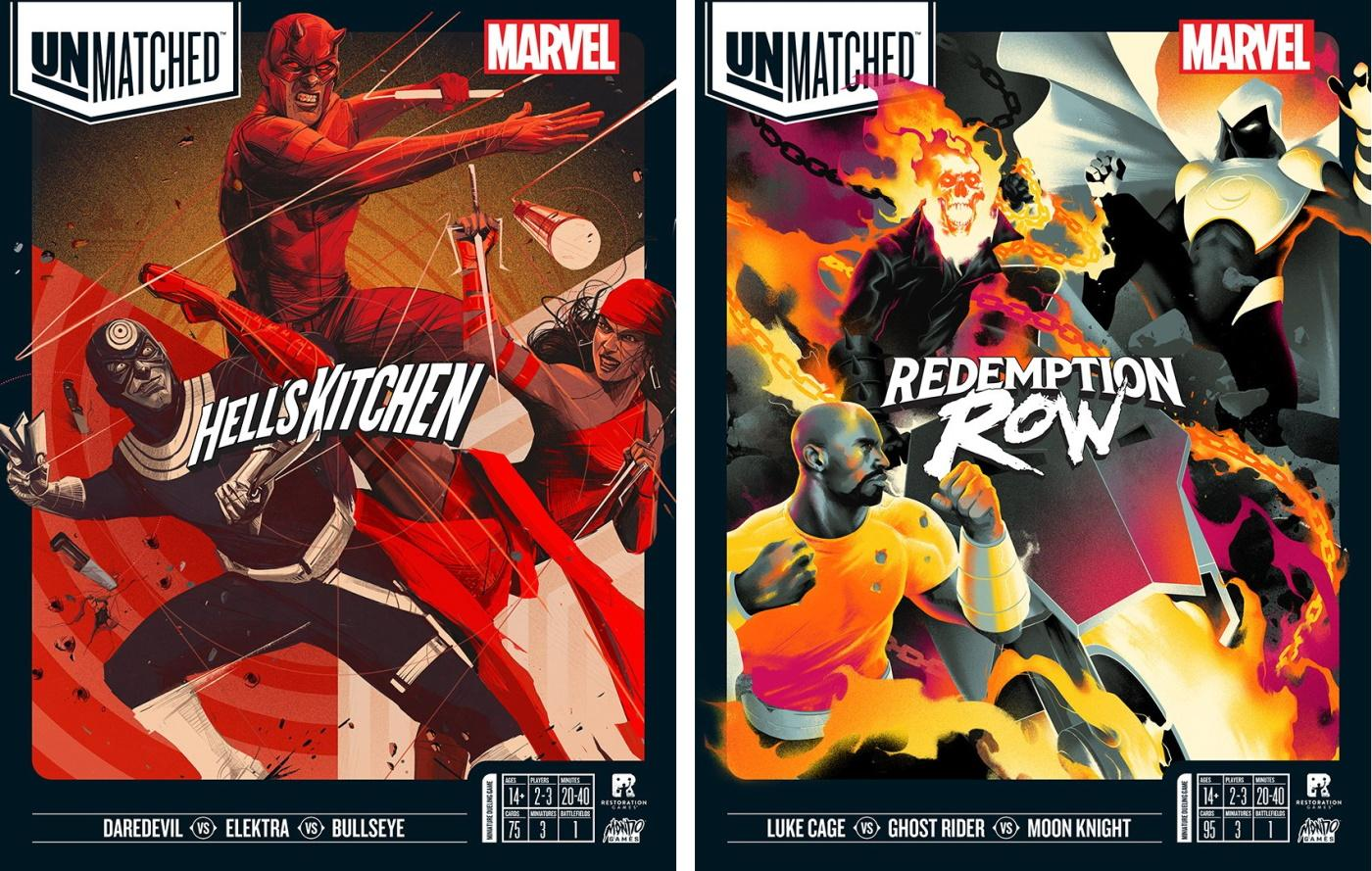 Marvel Unmatched board games