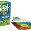 green geek out family game box and board