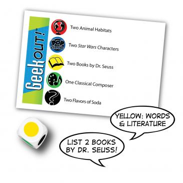 geek out card example