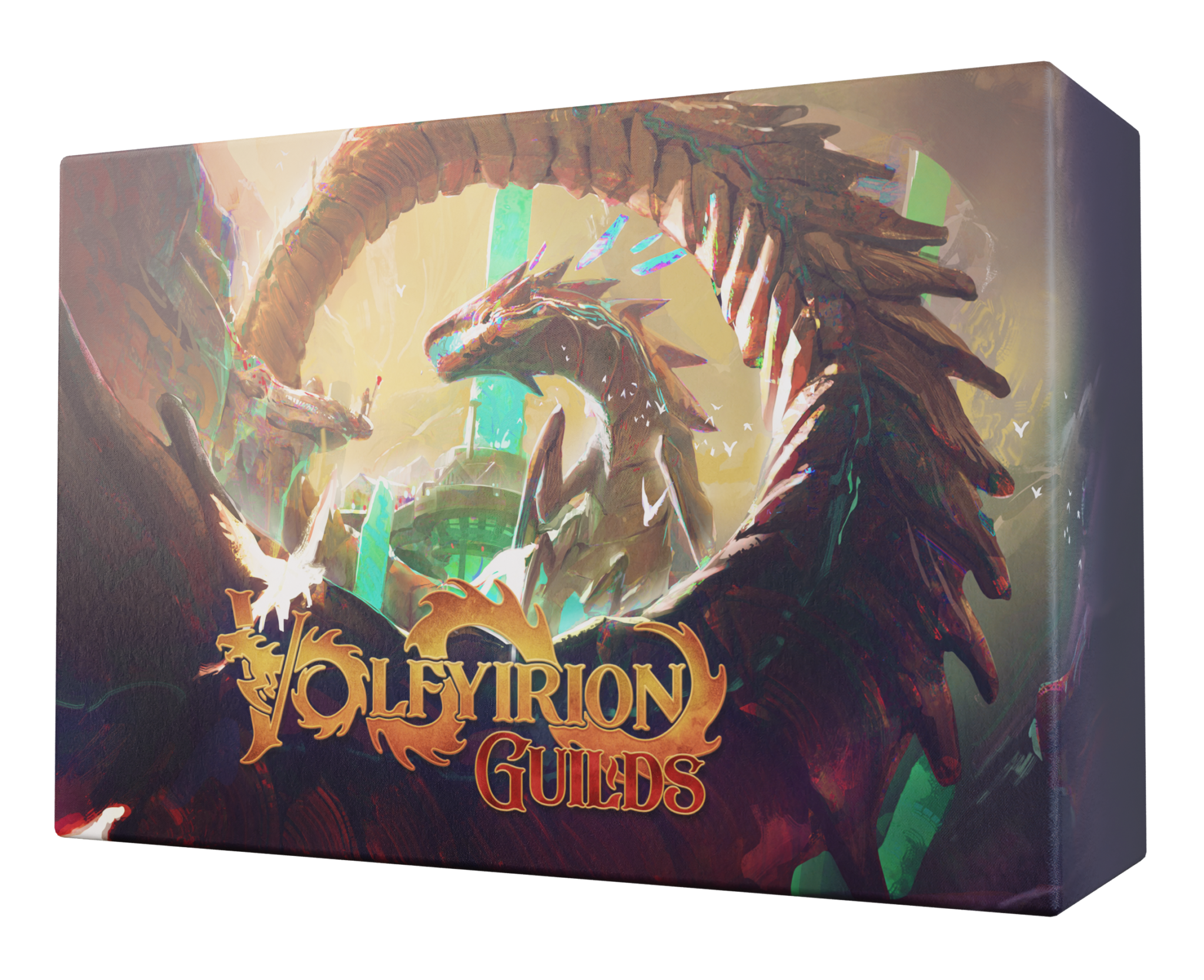 Volfyirion Guilds board game box