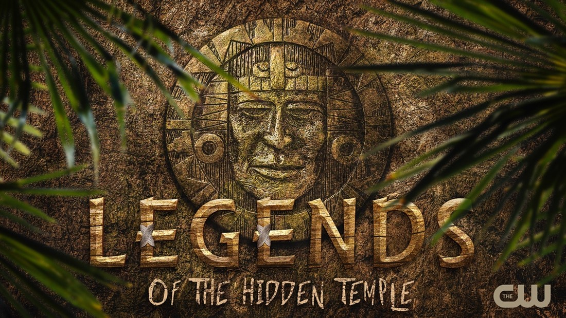 legends of the hidden temple the cw logo