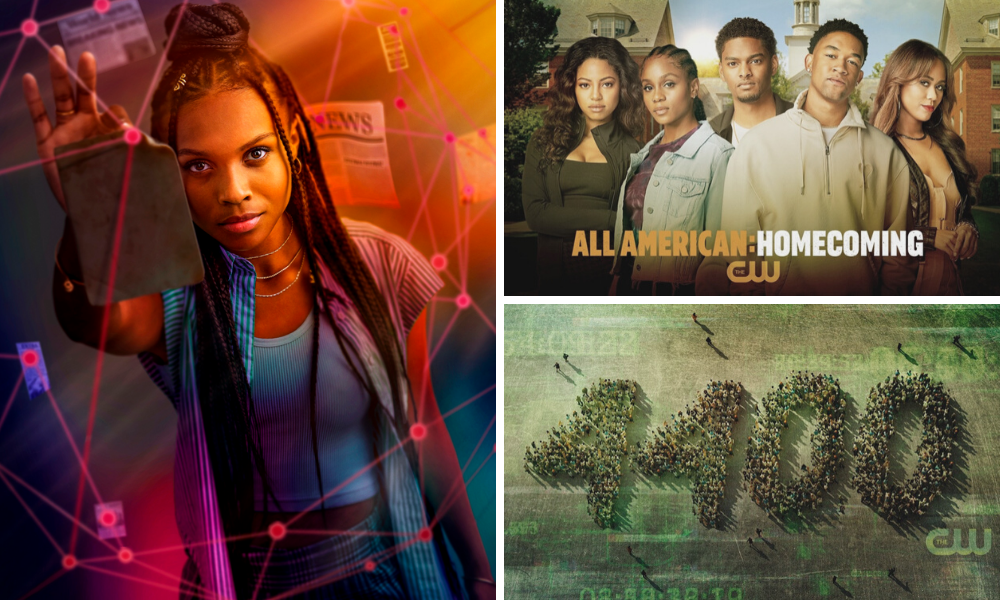 new series logos on the cw