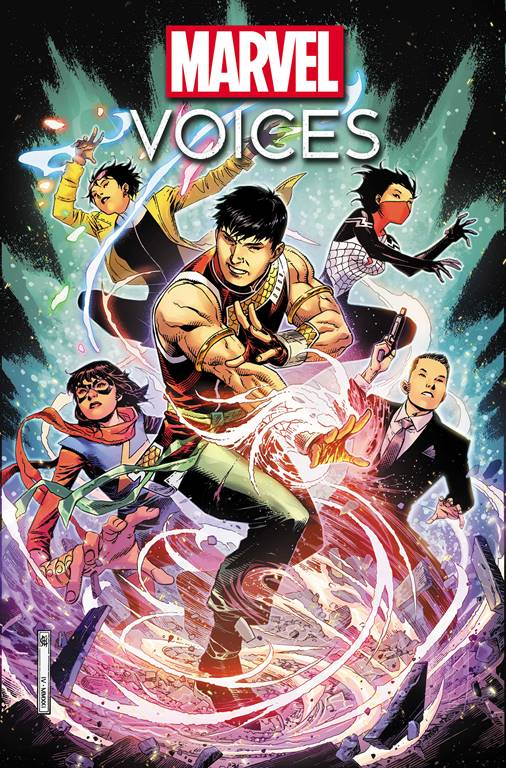 Marvel Voices: Identity cover