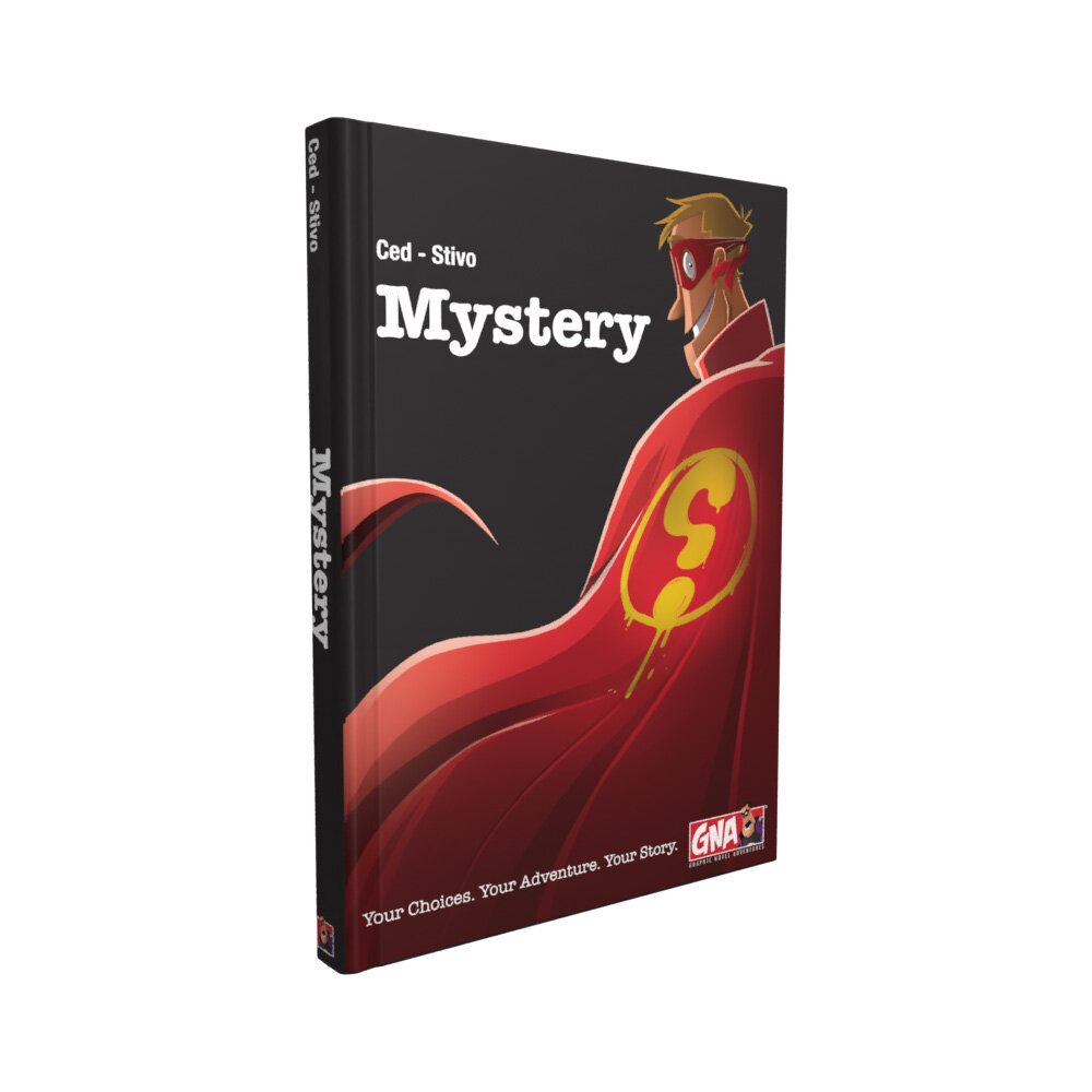 Mystery Adventure Graphic Novel Van Ryder Games - Cover