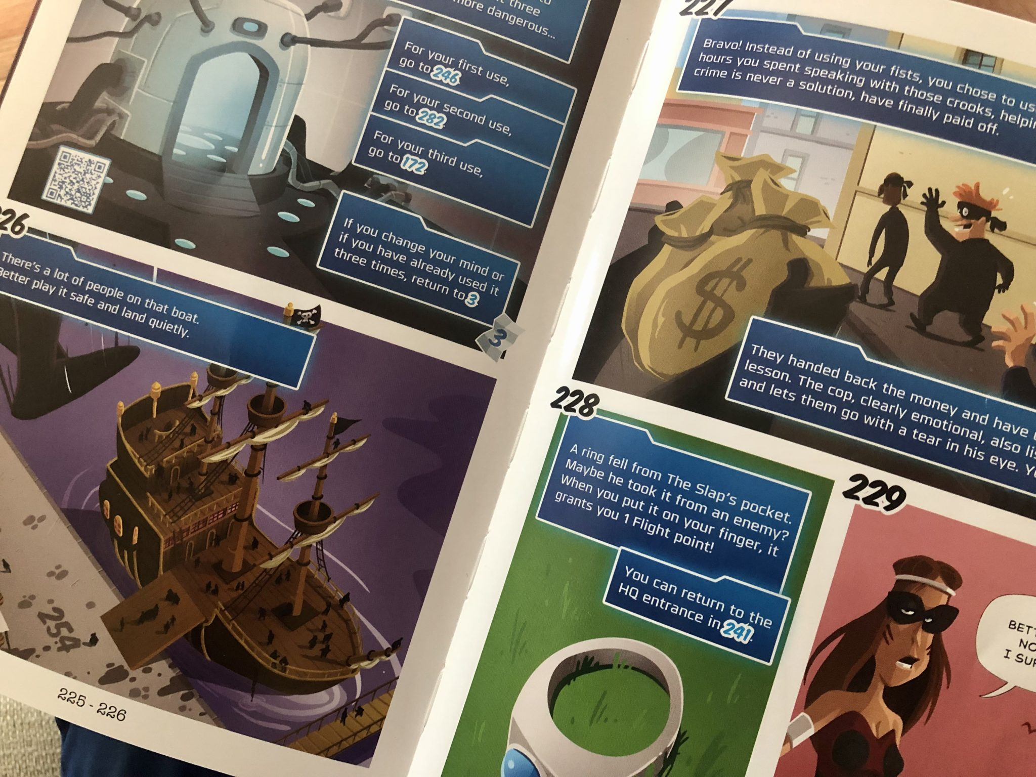 Mystery Adventure Graphic Novel Van Ryder Games in action