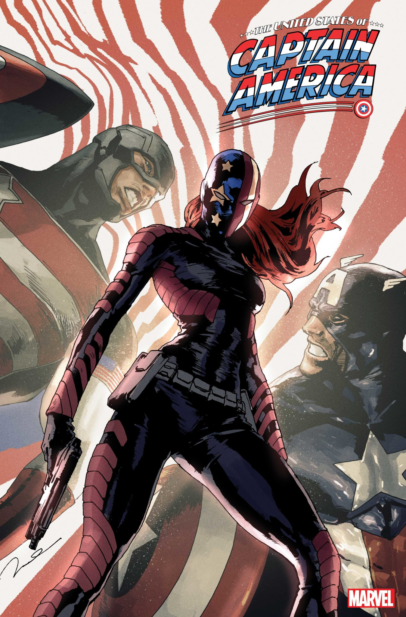 United States of Captain America #4 cover
