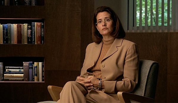 Dr. Melfi carries out therapy.