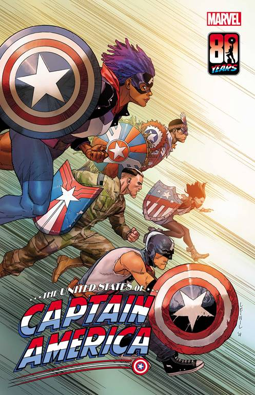 United States of Captain America cover