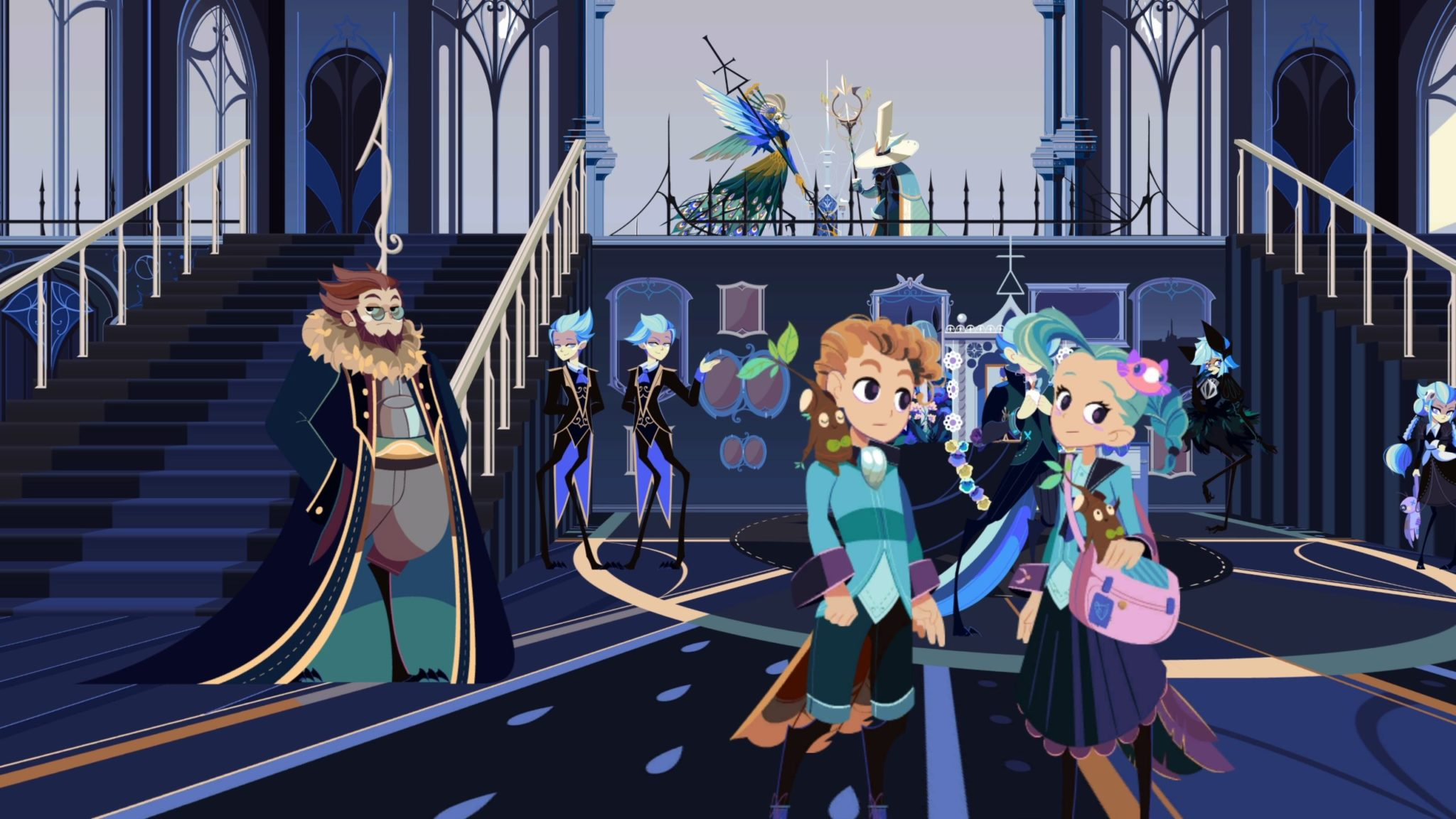 Cris Tales Art showing characters