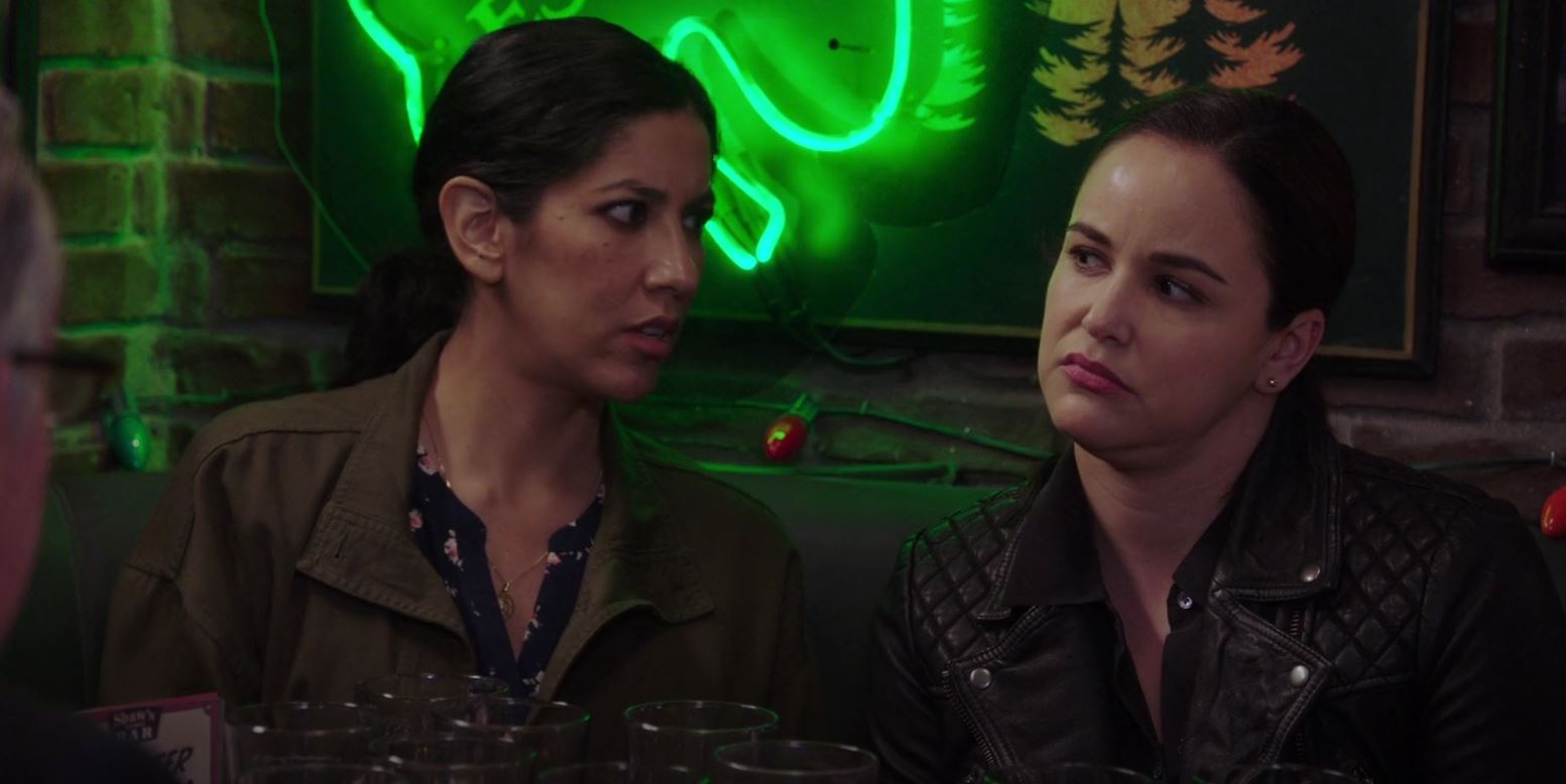Rosa and Amy from Brooklyn Nine-Nine