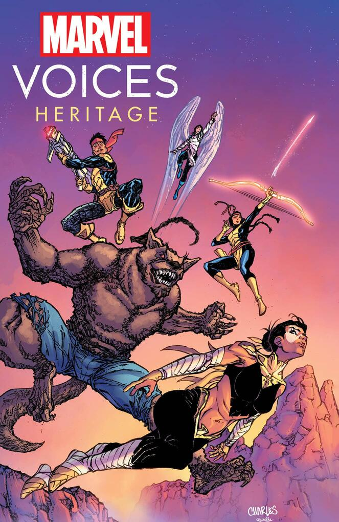 Marvel Voices: Heritage #1 Cover