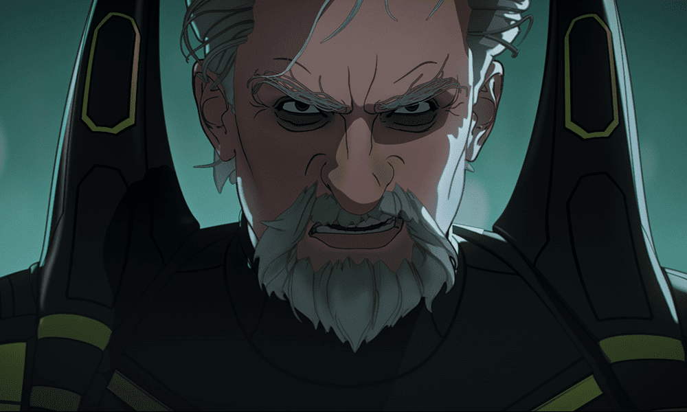 An unhinged and rough-looking Hank Pym as Yellowjacket in What If ...? S01E03