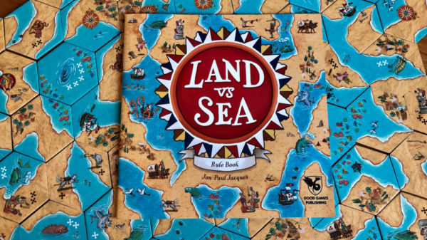 Land vs Sea on the table