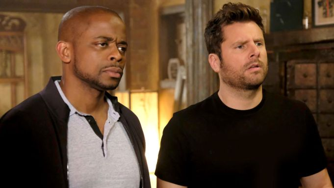 James Roday Rodriguez,DuléHill  as Gus and Shawn Spencer
