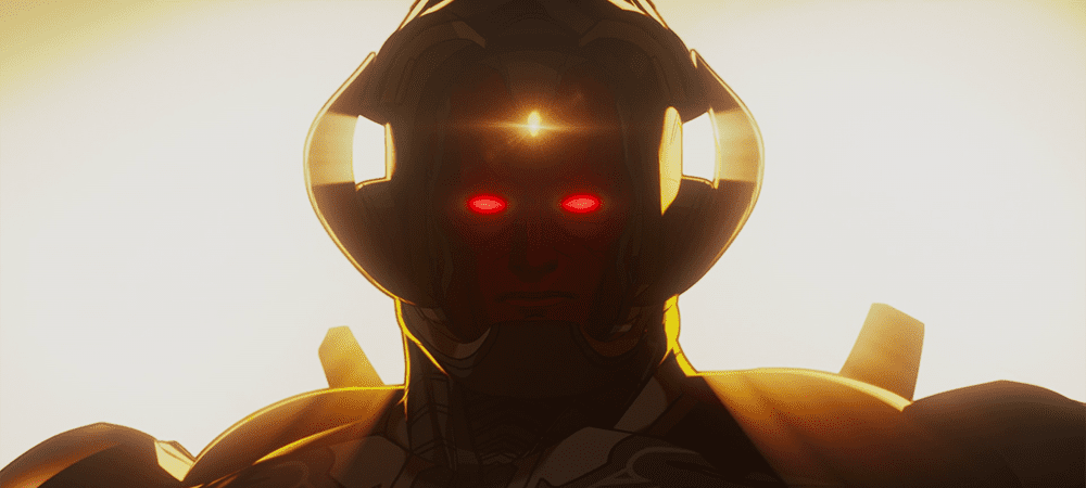 Infinity Vision-Ultron (he doesn't have a name yet but he's terrifying) in What If...? S01E07
