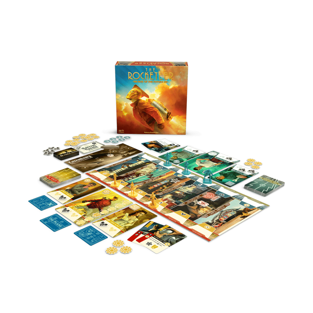 The Rocketeer: Fate of the Future contents