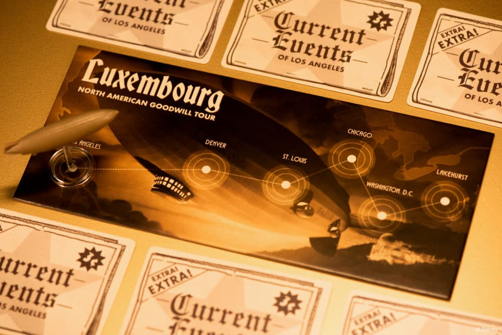 Rocketeer: Fate of the Future Luxembourg tracker and cards