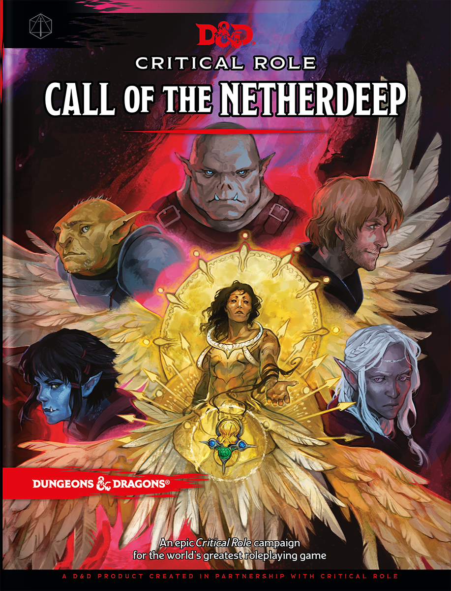 Critical Role: Call of the Netherdeep cover